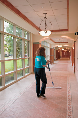 ServiceMaster by Thacker janitor cleaning in Lombard IL